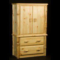 Wilderness Two Drawer Armoire