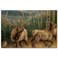 Back Country Elk Wall Art
