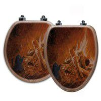 Camp Fire Toilet Seats