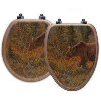 Grizzly Bear Toilet Seats