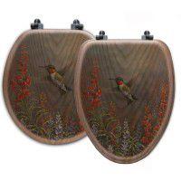 Hummingbird Toilet Seats