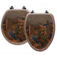 Blue Bird Toilet Seats