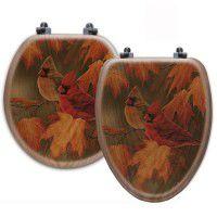 Maple Leaves Toilet Seats