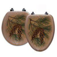 Pine Cone Toilet Seats
