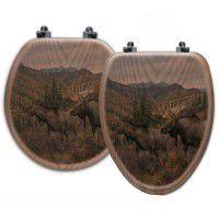 Working The Ridge Moose Toilet Seats