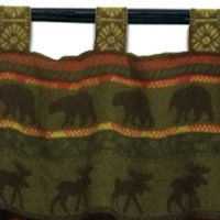 McWoods Bear and Moose Valance