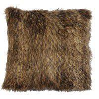Coyote Fur Pillow