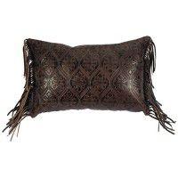 Gateway Leather Pillow