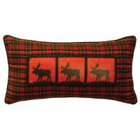 Three Moose Pillow
