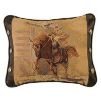 Bronco Rider Accent Pillow-CLEARANCE