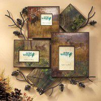 Whitetail Deer Wall Collage Picture Frame