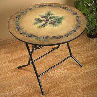 Pinecone Folding Table