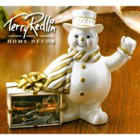 Family Traditions - Snowman Sculpture-CLEARANCE