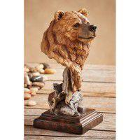 Silvertip – Brown Bear Sculpture