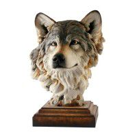 Head of the Pack – Wolf Sculpture