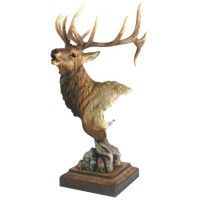 High Point – Elk Sculpture