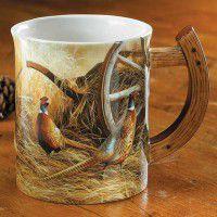 Autumn Glow Pheasant Mug