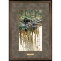 Slip and Slide Framed Bear Family Print