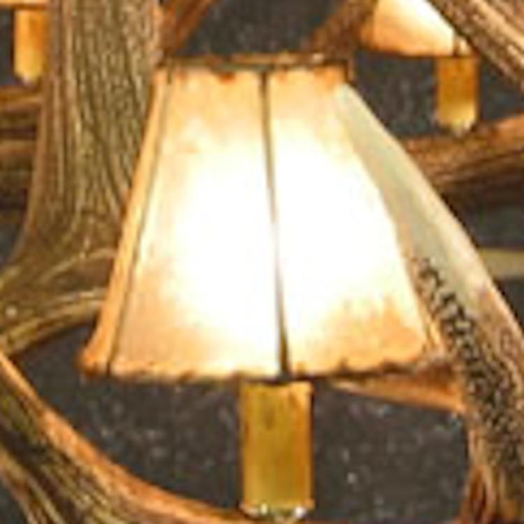 Rawhide Chandelier Lamp Shade