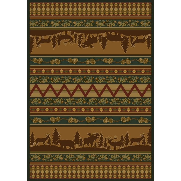 Game Area Rugs: Pine Valley Rug Collection