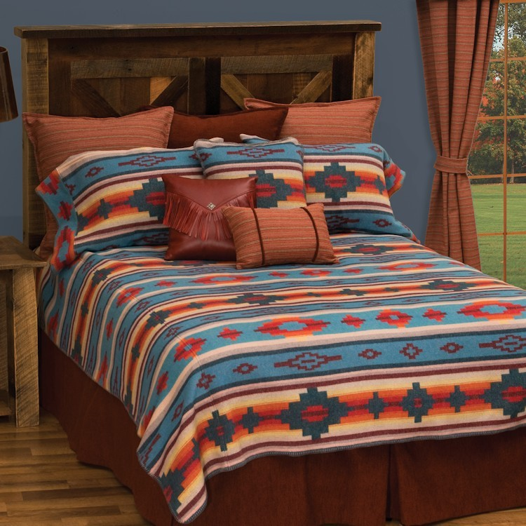 Crystal creek western bedding for Western style beds