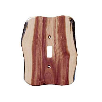 Cabin Decor Wooden Switch Plates Northwoods
