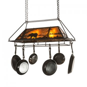 Rustic Pot Racks