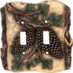 Rustic Light Switch Covers