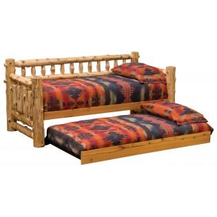Cedar Log Daybed