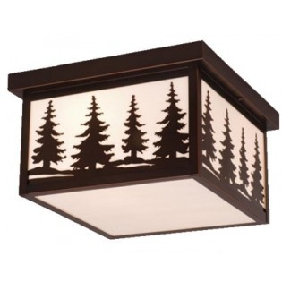 Click to buy Yellowstone Pine Tree Ceiling Light