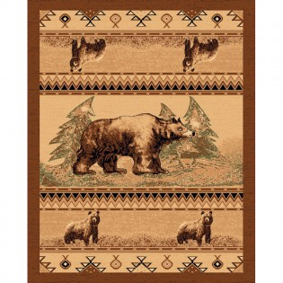 Wyoming Bear Trail 2x3