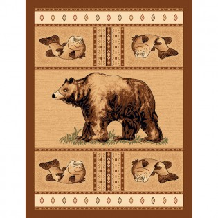 Grizzly Bear Pass 2x3