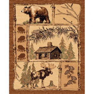 Lodge Life Area Rug