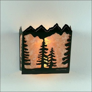 Teton 10 Inch - Spruce Sconce