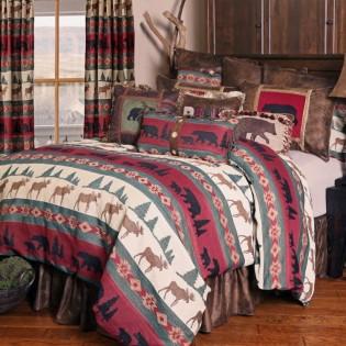 Takoma Bear & Moose Comforter Set
