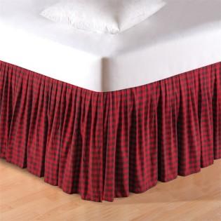 Buffalo Check Bedskirt - Queen