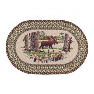 Moose Forest Jute Rug