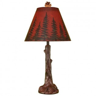 Amber Forest Table Lamp