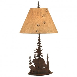 Wilderness Bear Table Lamp