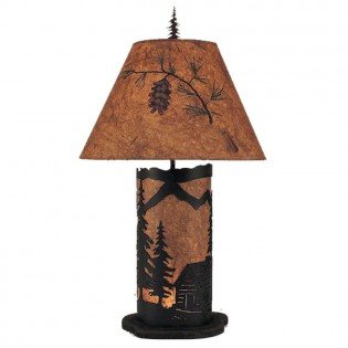 Lonesome Cabin Table Lamp