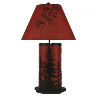 Sunset Pine Table Lamp
