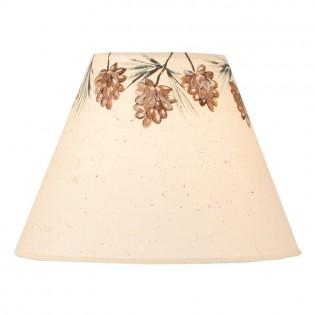 Pine Cone Crown Lamp Shade