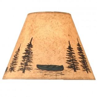 Green Canoe Lamp Shade