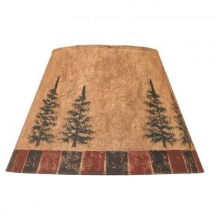 Northern Pine Rustic Lamp Shade
