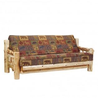 Cedar Log Futon