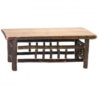 Hickory Open Coffee Table-5 Foot