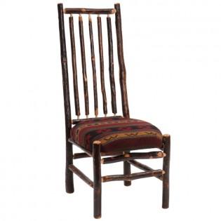 Hickory High Back Spoke Back Side Chair