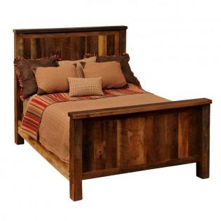 Caldwell Brook Benn Linn Barnwood Bed
