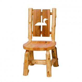 Log Cutout Side Chair