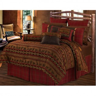 Luxury Cascade Lodge Bedding from The Cabin Place!